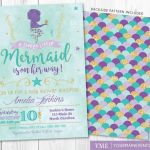 Free Little Mermaid Party Printables Creative Mermaid Invitation Template New Little Mermaid Birthday Cards Free
