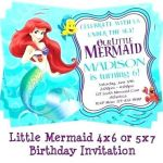 Free Little Mermaid Party Printables Elegant Fairy Invitation Template Party Invitations Free Printable Pirate