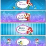 Free Little Mermaid Party Printables Inspired 519 Best Ariel the Little Mermaid Printables Images In 2019