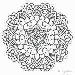 Free Mandala Coloring Pages Awesome Fresh Donut Coloring Pages