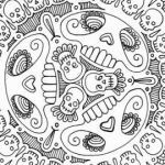 Free Mandala Coloring Pages Inspirational Elegant Detailed Mandala Coloring Pages – Tintuc247
