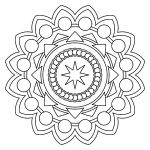 Free Mandala Coloring Pages New Free Printable Mandala Coloring Pages