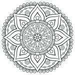 Free Mandala Coloring Pages.pdf Inspired Free Pdf Adult Coloring Pages at Getdrawings