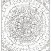 Free Mandala Coloring Pages to Print Exclusive Special Free Colouring Easy Bold Mandala Page