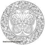 Free Mandalas to Color Beautiful Mandala Coloring Pages Fresh Free Mandala Coloring Pages Elegant