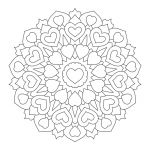 Free Mandalas to Color Excellent Valentine S Day Coloring Pages Ebook Heart Mandala