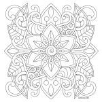 Free Mandalas to Color for Adults Amazing Coloring Book Easy Adult Coloring Books