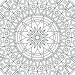 Free Mandalas to Color for Adults Awesome Coloring Pages Free Printable Adults – Redleatherbookingfo