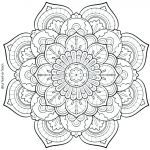 Free Mandalas to Color for Adults Awesome Online Coloring for Adults Free – Ozamard