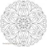 Free Mandalas to Color for Adults Exclusive Mandala Coloring Pages Lovely Mandala Coloring Pages Beautiful S S
