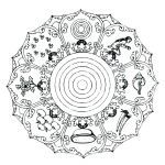 Free Mandalas to Color for Adults Inspiring Mandala Art Coloring Pages Mandala Art Coloring Pages Animals Animal