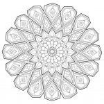 Free Mandalas to Color for Adults Wonderful Coloring Books Simple Mandala with Flower Coloring Page Easy Pages