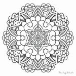 Free Mandalas to Color Inspirational Fresh Donut Coloring Pages