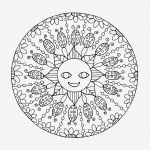 Free Mandalas to Color Pretty Fresh Mandala Coloring Letters