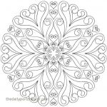 Free Mandalas to Color Wonderful Mandala Coloring Pages Fresh Free Mandala Coloring Pages Elegant