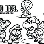 Free Mario Coloring Pages Best Super Brothers Coloring Page Color Pages Free Printable Mario Bros
