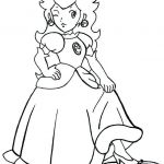 Free Mario Coloring Pages Elegant Best Super Mario Princess Coloring Pages – Doiteasy