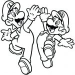 Free Mario Coloring Pages Inspirational Super Brothers Coloring Pages Best Bros Printable Line O D
