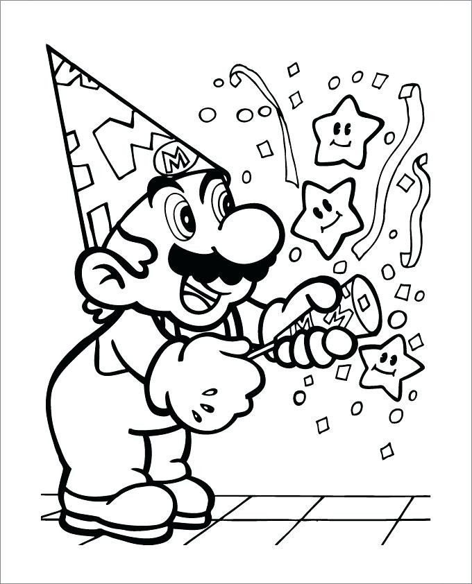 Free Mario Coloring Pages Inspired Mario Colouring Pages – 488websitedesign