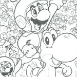 Free Mario Coloring Pages Marvelous Coloring Pages Super Mario Color Bros Printables Video Game – Hashclub