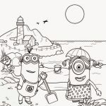 Free Minion Coloring Pages New Lovely Coloring Pages Tacos for Boys Picolour