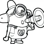 Free Minion Coloring Pages New Minion Drawing Bob