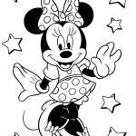 Free Minnie Mouse Coloring Pages Beautiful Minnie Mouse Colouring Pages Printables