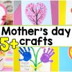 Free Mothers Day Cards to Color and Print Beautiful 25 Mothers Day Crafts for Kids Most Wonderful Cards Keepsakes