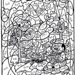 Free Online Color by Numbers for Adults Excellent Number 18 Coloring Page Felszamolas