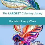 Free Online Color by Numbers for Adults Inspiration Pigment Adult Coloring Book On the App Store