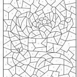 Free Online Color by Numbers for Adults Wonderful 7 Good Free Line Coloring Pages for Kids