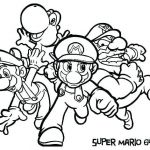 Free Online Coloring Pages Disney Inspired Mario Bros Coloring Pages – Kathrynkayefo