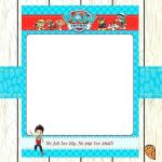 Free Paw Patrol Birthday Printables Best 13 Customize Our Easy to Use Paw Patrol Blank Invitation Template