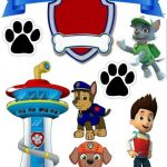 Free Paw Patrol Birthday Printables Inspirational Paw Patrol Birthday Party Free Printable Cake toppers