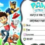 Free Paw Patrol Birthday Printables Wonderful 13 Customize Our Easy to Use Paw Patrol Blank Invitation Template