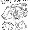 Free Paw Patrol Coloring Pages Marvelous Paw Patrol Coloring Page