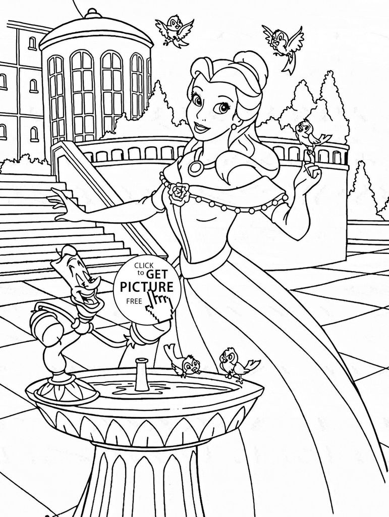 Free Princess Coloring Pages Exclusive Inspirational Princess Coloring Set