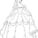 Free Princess Coloring Pages Inspiring Free Printable Belle Coloring Pages for Kids