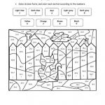 Free Printable Color by Number Pages for Adults Elegant Coloring by Numbers Printables Fabulous Color by Number Coloring