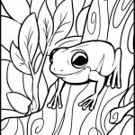 Free Printable Color by Number Pages for Adults Inspiration Coloring Activities for Kids Elegant Coloring Pages Kids Frog