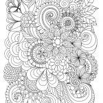 Free Printable Color by Number Pages for Adults Inspired Flowers Abstract Coloring Pages Colouring Adult Detailed Advanced