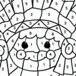 Free Printable Color by Numbers Pages for Adults Best Free Coloring Pages Color by Number New Christmas Coloring Pages