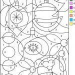 Free Printable Color by Numbers Pages for Adults Excellent Coloring with Numbers Color by Number Pages Coloring Numbers Page to