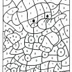Free Printable Color by Numbers Pages for Adults Marvelous Color by Numbers Pages Color by Number Page Color by Number Page D