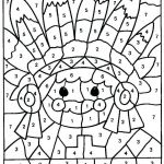 Free Printable Color by Numbers Pages for Adults Marvelous Free Coloring Pages Color by Number New Christmas Coloring Pages