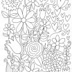 Free Printable Coloring Book Pages for Adults Unique Coloring Page Stress Relief Coloring Easy Pages Lovely Cool Page