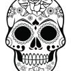 Free Printable Day Of the Dead Coloring Pages Awesome Coloring Page Day the Mandala Coloring Pages Copy Adult Skull