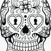 Free Printable Day Of the Dead Coloring Pages Creative Luxury Day Dead Skull Coloring Pages – Kursknews