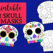 Free Printable Day Of the Dead Coloring Pages Inspirational Day Of the Dead Masks Sugar Skulls Free Printable Paper Trail Design