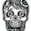 Free Printable Day Of the Dead Coloring Pages Pretty Coloring Pages Skulls – Acnee